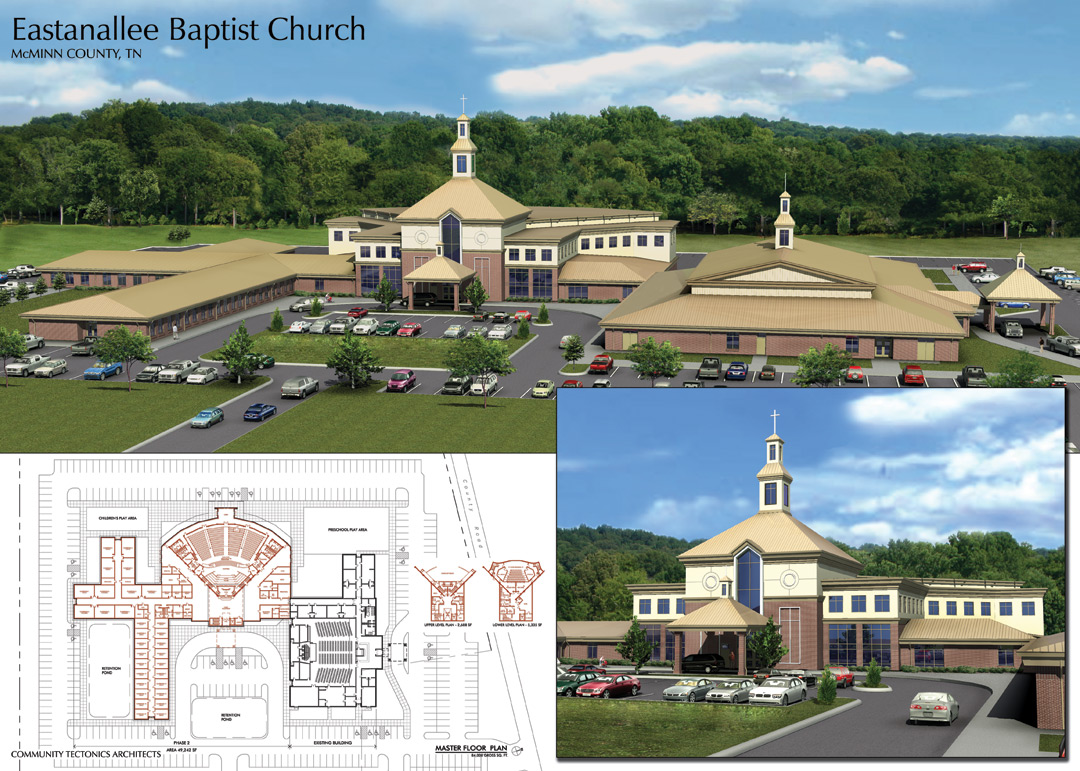 Eastanallee Church Master Plan