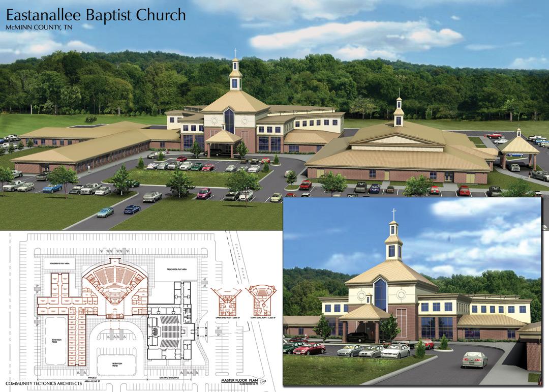 Eastanallee Church Master Plan
