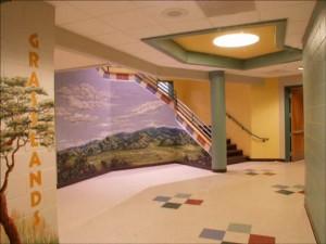 Maryville Stairs & Hallway