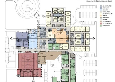 Claiborne High School  Floor Plan