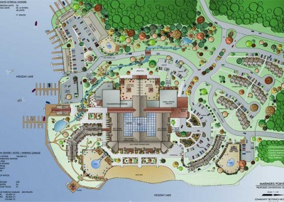 Mariner's Pointe Site Plan