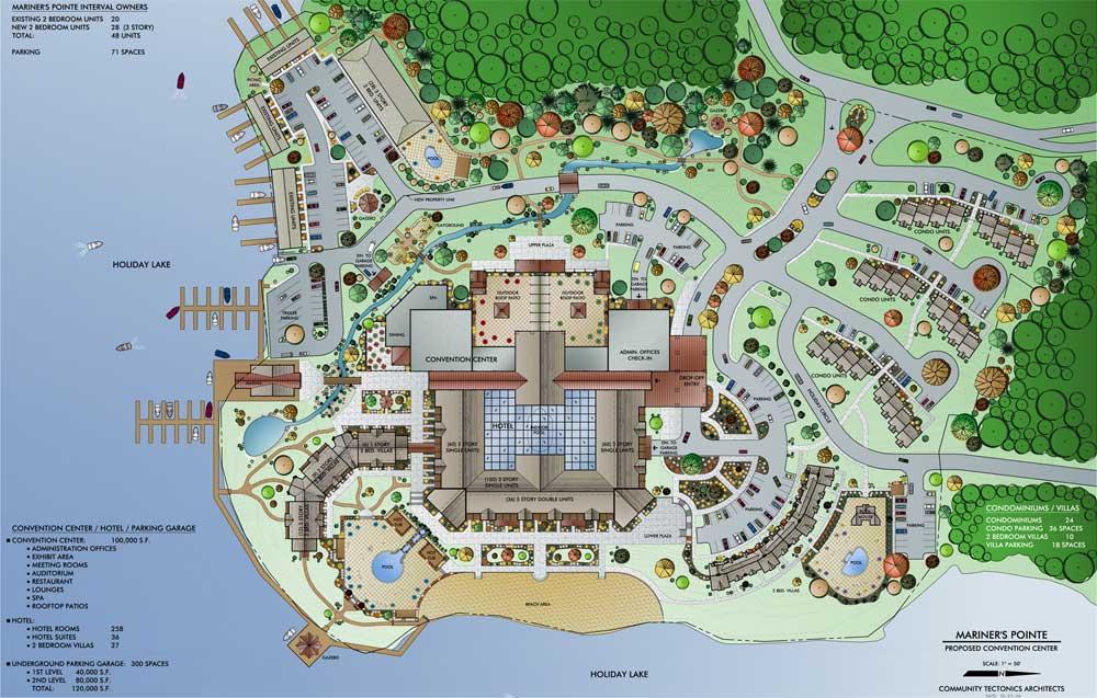 Mariner's Pointe Site Plan