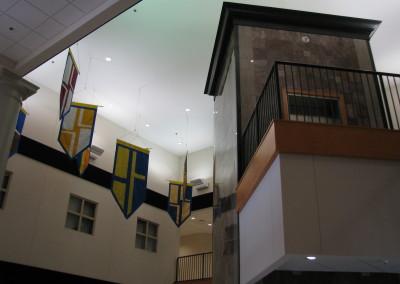 Marble Elevator Shaft