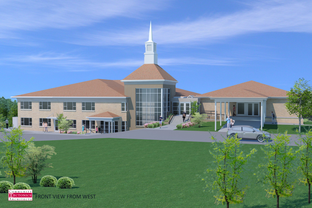 Western heights baptist center community tectonics architects for Interior design schools in knoxville tn