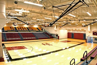 Science Hill Gymnasium Interior
