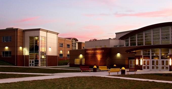High School Science Classroom Design ~ Science hill high school community tectonics architects
