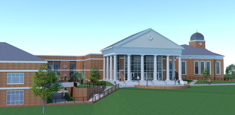 Lee University Business Building