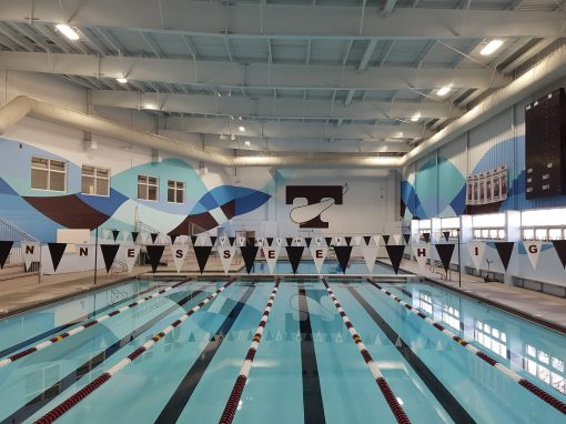 Tennessee High School Viking Hall Natatorium