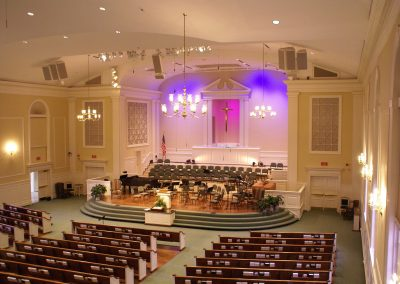 Central Baptist Church Bearden, Sanctuary