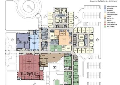 Claiborne High School  Floor Plan
