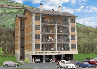 Club Chalet, River Road Condominiums